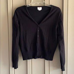 Apt. 9 Black Button Cardigan size Large
